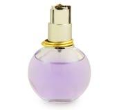 Perfume. Bottle of perfume isolated on white Stock Photos