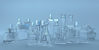 Perfume stock illustration