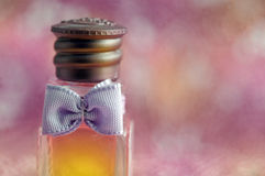 Perfume background Stock Photography