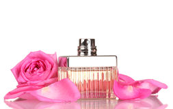 Perfume in a beautiful bottle Stock Photography
