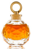 Perfume in a beautiful glass jar Stock Photo