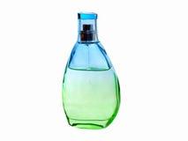 Perfume bottle. Female perfume bottle isolated on white background Stock Image