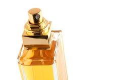 Perfume bottle. Isolated on white background Royalty Free Stock Photography