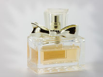 Perfume bottle. Spray with perfume. Vial of perfume Royalty Free Stock Images