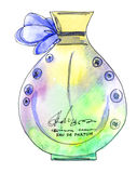 Perfume bottle Stock Photography