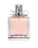 Perfume bottle. Isolated on white background Stock Photos