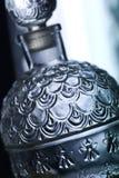 Perfume bottle. Glass bottle of perfume, seduction and fashion concept Stock Photo