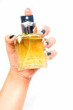 Perfume bottle Stock Images