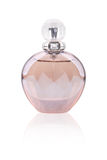 Perfume bottle with diamond Stock Photography