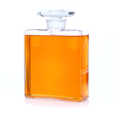 Perfume Bottle. A filled perfume bottle on a white background Stock Photo