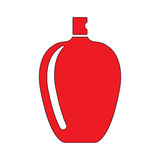 Perfume bottle. Flat icon illustration EPS 10 Stock Images