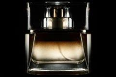 Perfume bottle isoalted Royalty Free Stock Photos