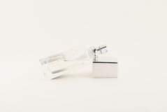 Perfume bottle isolated Royalty Free Stock Photo
