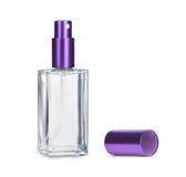 Perfume bottle isolated on white Royalty Free Stock Photos