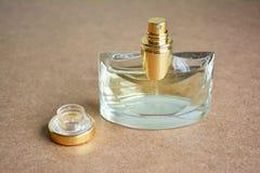 Perfume bottle open. Royalty Free Stock Photos