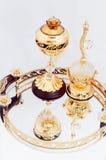Perfume bottle Stock Photography