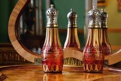 Perfume bottle at Tsarskoye Selo Pushkin Palace Stock Image