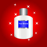Perfume bottle Vector Royalty Free Stock Photos