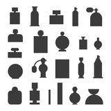 Perfume bottle vector template Royalty Free Stock Photo