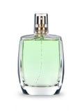 Perfume bottle on white background Stock Images