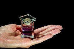 Perfume bottle2 Stock Images