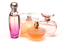 Perfume bottles 1 Stock Photos
