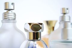 Perfume Bottles Royalty Free Stock Photos