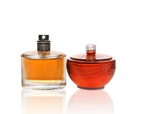 Exotic Perfumes, bottles  Stock Image
