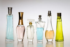 Perfume bottles Royalty Free Stock Photography