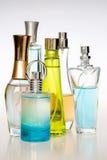 Perfume bottles Stock Image