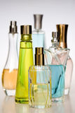 Perfume bottles Stock Photo