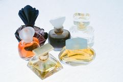 Perfume bottles Stock Photos