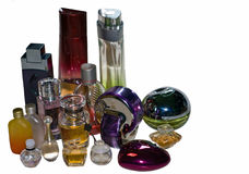 Perfume bottles Royalty Free Stock Images