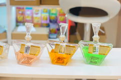 Perfume bottles Stock Photography