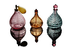Perfume Bottles Royalty Free Stock Photography