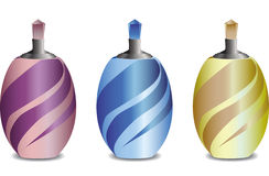Perfume Bottles Set Stock Images