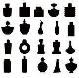 Perfume bottles Set -vector Stock Images