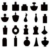 Perfume bottles Set -vector Stock Images