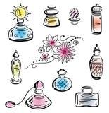 Perfume, bottles Royalty Free Stock Photo