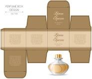 Perfume box design Stock Photo
