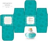 Perfume box design royalty free illustration