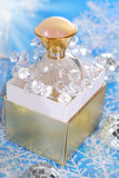 Perfume for christmas Royalty Free Stock Images