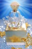 Perfume for christmas Royalty Free Stock Image