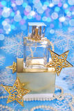 Perfume for christmas Stock Image