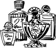 Perfume And Cologne Bottles Royalty Free Stock Images