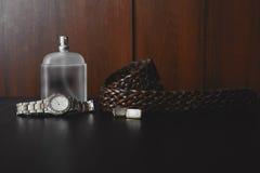 Perfume con la correa y el puño Imágenes de archivo libres de regalías