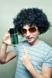 Perfume for cool guys Stock Photo