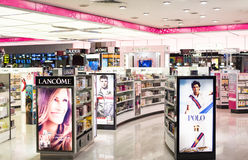 Perfume and Cosmetic Shop Royalty Free Stock Photography