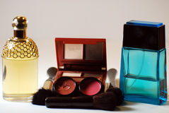 Perfume and Cosmetics Royalty Free Stock Images