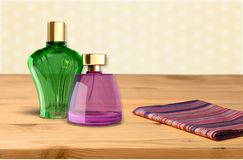 Perfume Cosmetics Stock Photography